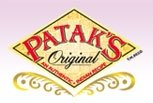 Logo for Patak's Original, a brand of Indian-style curry pastes, sauces, and spices.