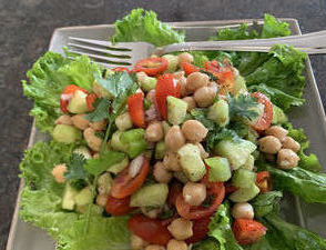View post titled Chickpea Salad