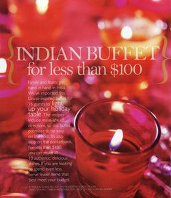 View post titled Let's Celebrate – Indian Buffet