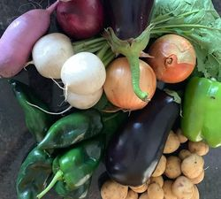 View post titled Summer Vegetable Bounty – Farmers Market