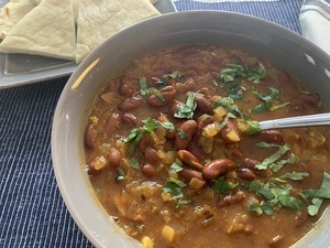 View post titled Quick Rajma (Kidney Beans)