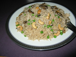 View post titled Peas Mushroom Pulao (Pilaf)