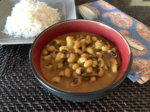 View post titled Black-Eyed Peas and Potato Curry