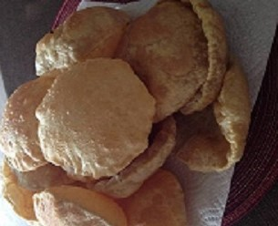 View post titled Fried Bread (Puri)