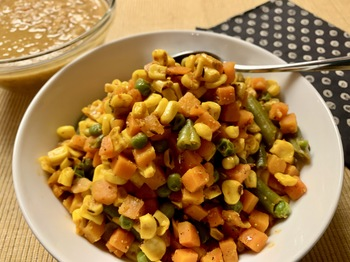 View post titled Mixed Vegetables (Sukhi Subji)