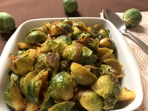 View post titled Indian Style Brussels Sprouts
