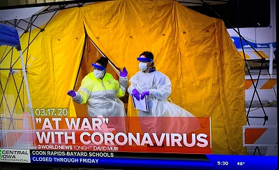 Coronas Virus Warning ABC